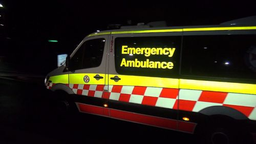 NSW Ambulance took the injured 25-year-old man to St Vincent's Hospital in a stable condition.