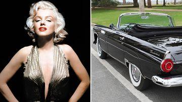 Marilyn Monroe's Thunderbird goes under the hammer