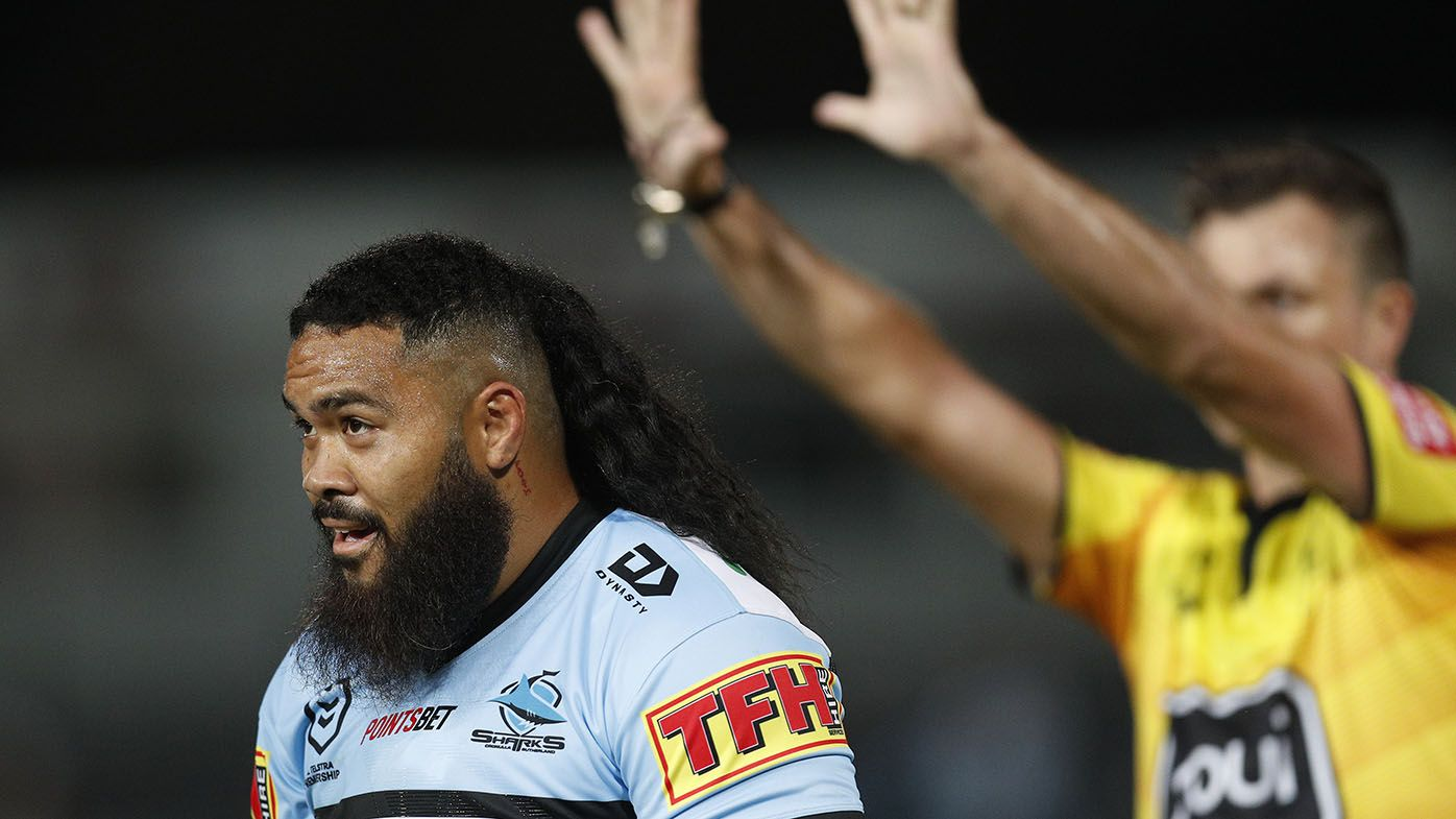 Sharks forward Siosifa Talakai facing up to six-week ban for shoulder charge – Wide World of Sports