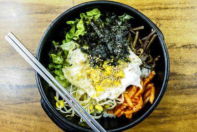 <strong>8. Bibimbap in Seoul, South Korea</strong>