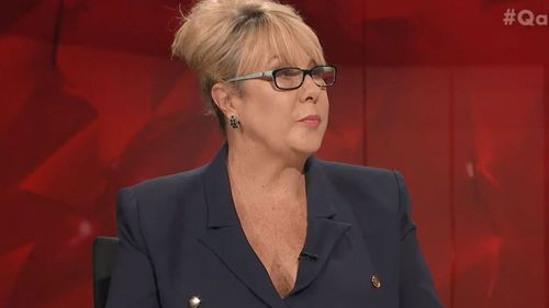 """The worst hate speech I've heard recently is Richard Di Natale,"" Ms McQueen claimed."