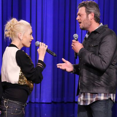 Gwen Stefani and Blake Shelton: 3 months later