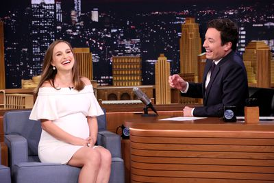 <p>Off the cuff: Being interviewed on The Tonight Show Starring Jimmy Fallon.</p>