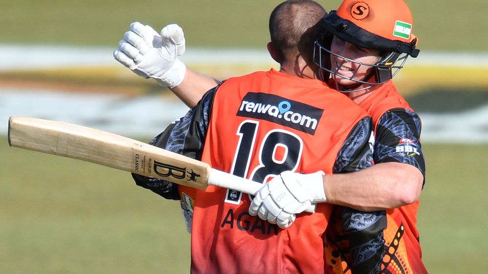 BBL: Perth Scorchers defeat Adelaide Strikers to top ladder