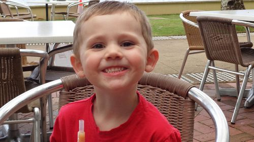 William Tyrrell vanished in 2014, with police now going back to his grandmother's property in Kendall. Picture: Supplied