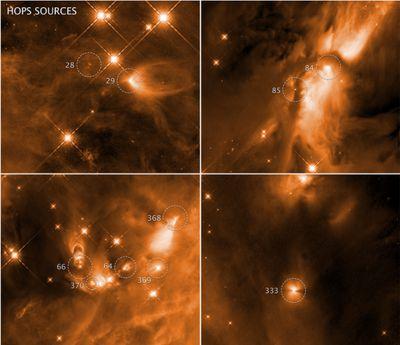 Birth of stars in the Orion complex