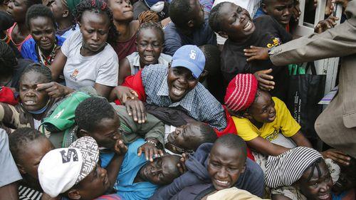 Stampede in Nairobi