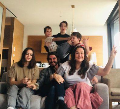 Kate Langbroek family hotel quarrantine
