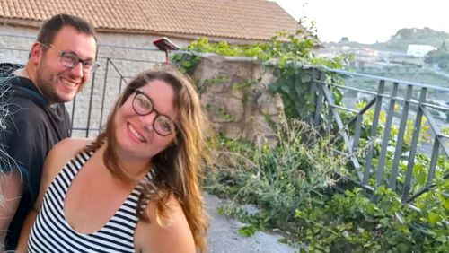Morgane Guihot, from France, was one of the first buyers to purchase a €1 property in Mussomeli, a town located in the heart of Sicily.
