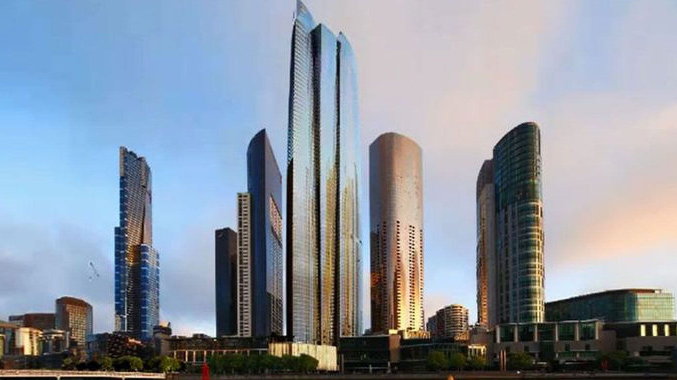 The new Southbank tower will Melbourne's tallest tower. (Supplied)