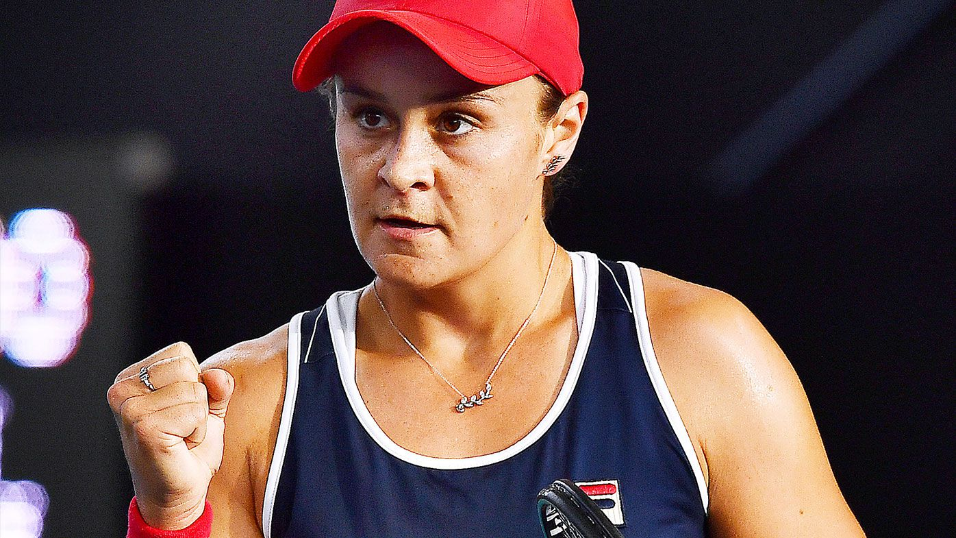 Ash Barty through to Adelaide International semi-finals