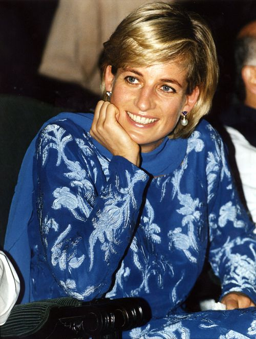 Princess Diana, pictured in 1997, was famed for her humanitarian work. (AAP)