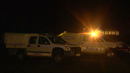 The man is believed to be employed by the ride's operator. (9NEWS)