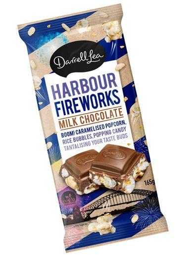 Darrell Lea Harbour Fireworks Milk Chocolate for BridgeClimb Sydney 21st anniversary