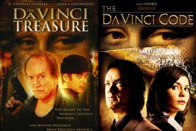 In <i>The Da Vinci Treasure</i> (2006) an anthropologist discovers codes hidden in Da Vinci's artworks which threaten to change Christianity forever…