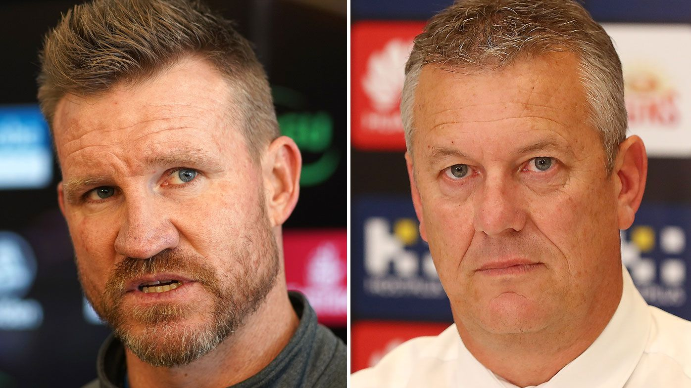 Gold Coast Suns boss Mark Evans admits Nathan Buckley-Tom Lynch meeting forced hand