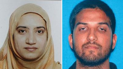 <p><strong>San Bernardino shooting, 2015 – 14 killed, 21 injured</strong></p> <p>On Wednesday December 2 last year Syed Rizwan Farook, 28, and Tashfeen Malik, 27, donned assault clothing, armed themselves with rifles and stormed a holiday party in California attended by San Bernardino County employees, killing 14 people and wounding 17 others. They were killed in a shootout with police. (AAP)</p>
