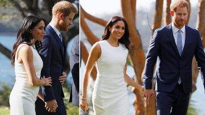 Royal couple receive special Aussie gift