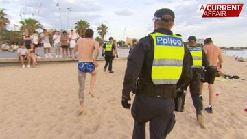 Partygoers overrun Australian tourist hotspot