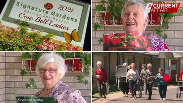 Calendar gets risqué retirees through lockdown