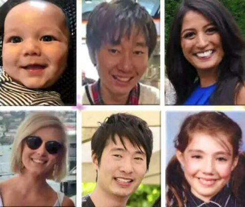 The victims of the Bourke Street rampage.