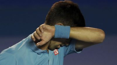 Djokovic misses his only chance