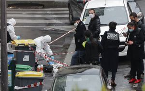 Terrorism charges filed over double stabbing near former Charlie Hebdo office in Paris