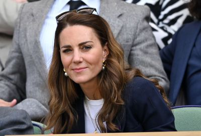 Duchess of Cambridge goes to Wimbledon