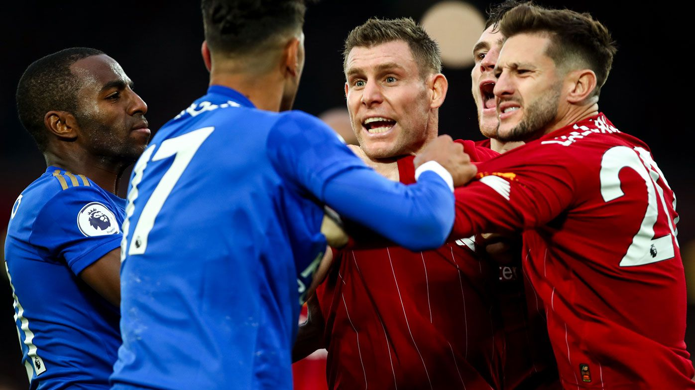 Late James Milner penalty keeps Liverpool flying as Tottenham crash in EPL