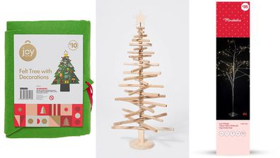 Alternative options for a Christmas tree for under $100.
