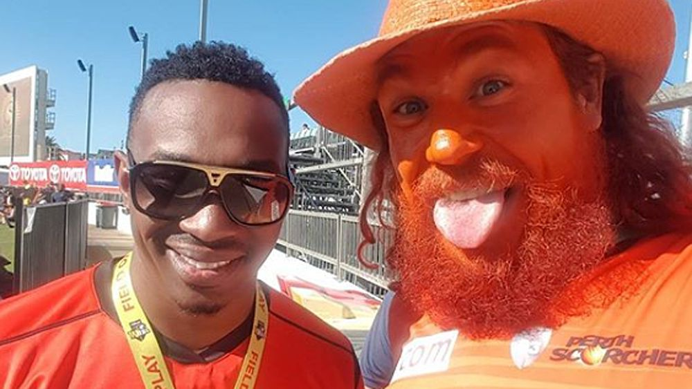 BBL: Perth Scorchers fan 'Choombies' denies racist taunting of Dwayne Bravo after WACA eviction