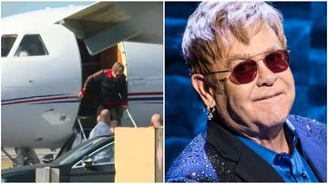 Sir Elton touches down in Mackay ahead of regional tour