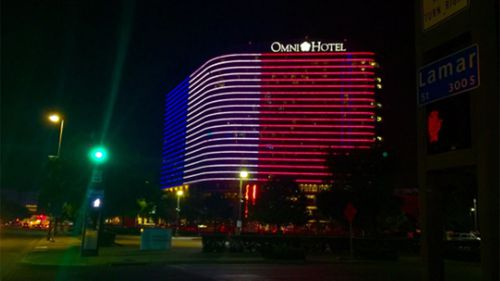 The Omni Hotel in Dallas, US. (Concerned American, Twitter)