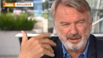 New Zealand actor Sam Neill