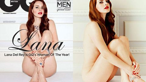 Lana Del Rey poses nude, gets groped in <i>GQ</i> photo spread