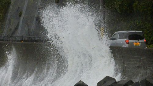 Typhoon forces 1.5 million Japanese to evacuate
