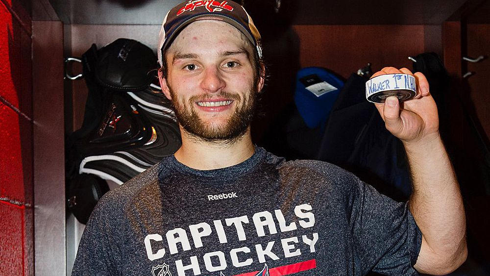 NHL: Australian Nathan Walker scores on debut for Washington Capitals against Montreal Canadiens