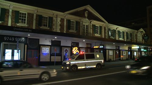 Police were called to the pub just before 7pm yesterday. (9NEWS)