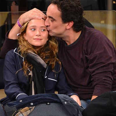 Mary-Kate Olsen and Olivier Sárközy: 2012