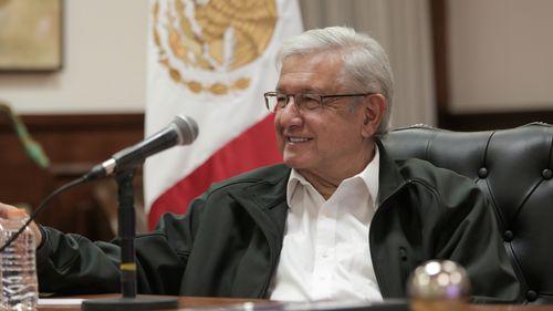 Mexican President Lopez Obrador