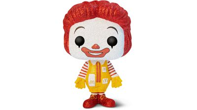 McDonald's launches limited edition glitter toy.