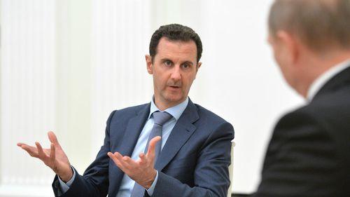 Syrian President Bashar al-Assad meets with Russian President Vladimir Putin. (AAP)