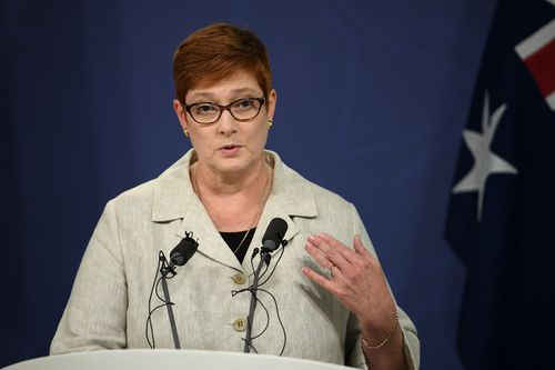 Foreign Affairs Minister Marise Payne.