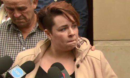Mr Handford's granddaughter, Leah, said she was relieved the court process is complete. (9NEWS)