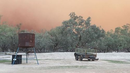 The dust storm has affected many rural properties before making its way to heavily populated areas on the east coast