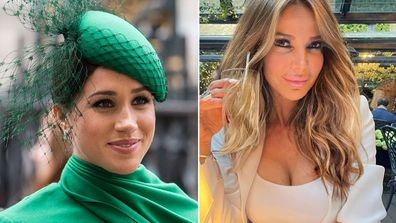 Lizzie Cindy lashes out at Meghan Markle