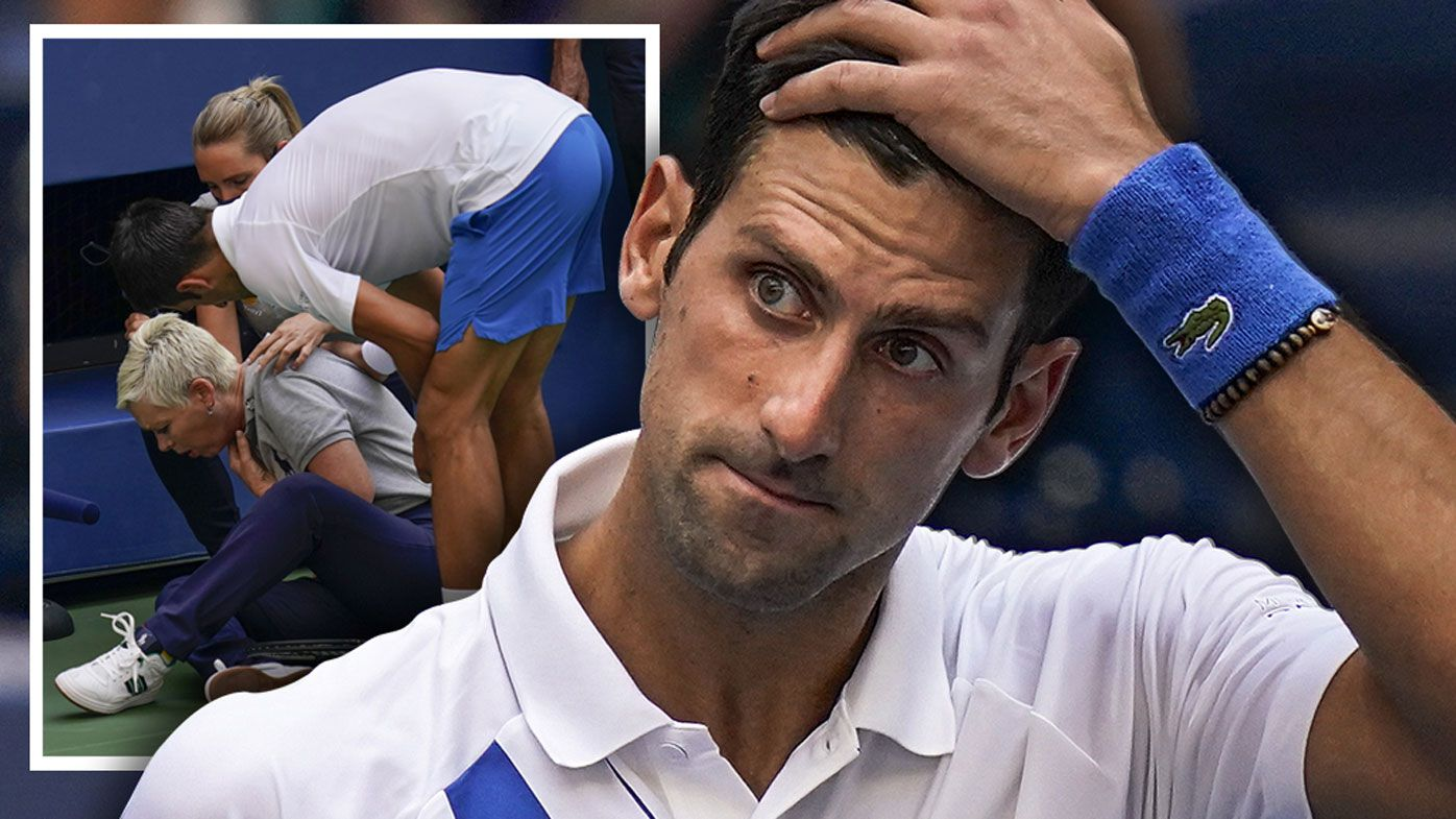 Novak Djokovic 'in pain' over bombshell US Open disqualification, ex-coach says