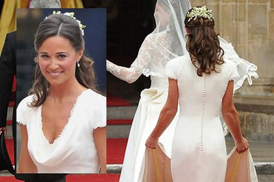 ...and then there was Pippa, Kate's younger sister, who became the talk of the town after everyone noticed just how good her butt looked at the royal wedding.