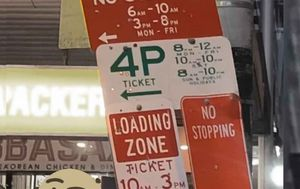 Ben Fordham snaps incredibly complicated Sydney parking sign