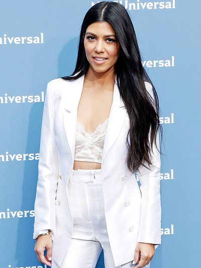 Reality TV star Kourntey Kardashian at the NBC Universal Upfront Presentation in New York in May, 2016